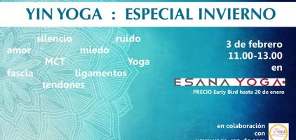 Yin Yoga: Especial Invierno
