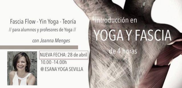 FASCIA FLOW & YIN YOGA con Joanna Menges