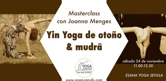 Masterclass: Yin Yoga de otoño y mudrā