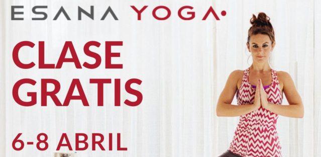 Del 6 al 8 de abril… ¡¡Prueba una clase GRATIS!!